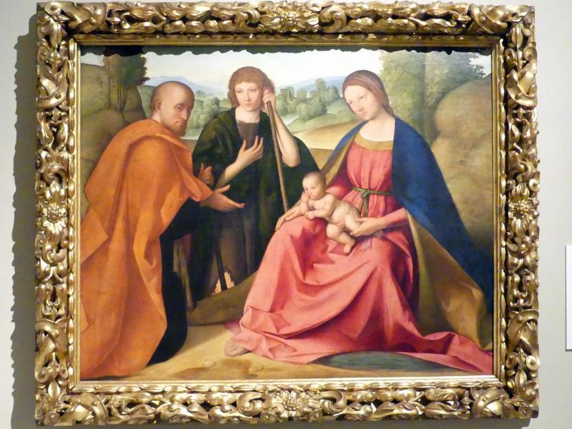 Boccaccio Boccaccino: Anbetung der Hirten, Um 1501