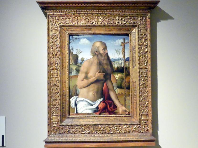 Marco Meloni: Der büßende hl. Hieronymus, 1500 - 1504