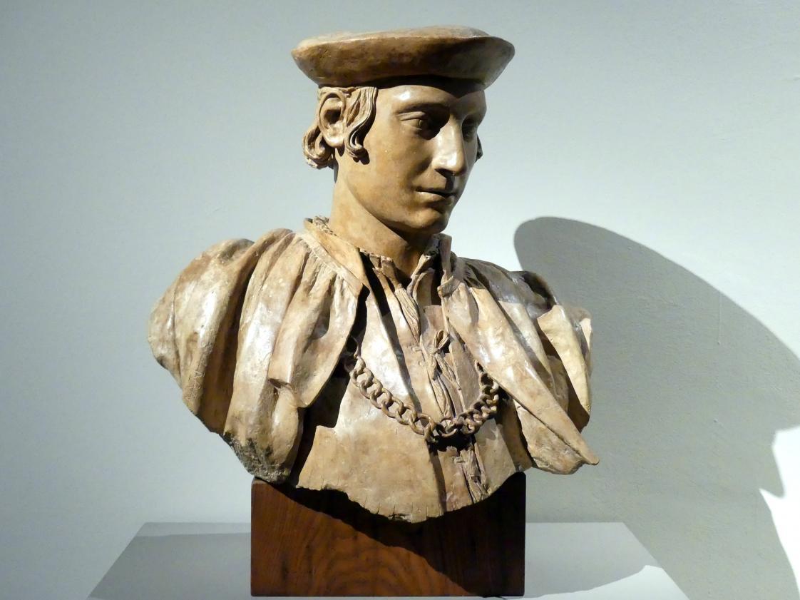 Antonio Begarelli: Büste des Lionello Beliardi, 1529