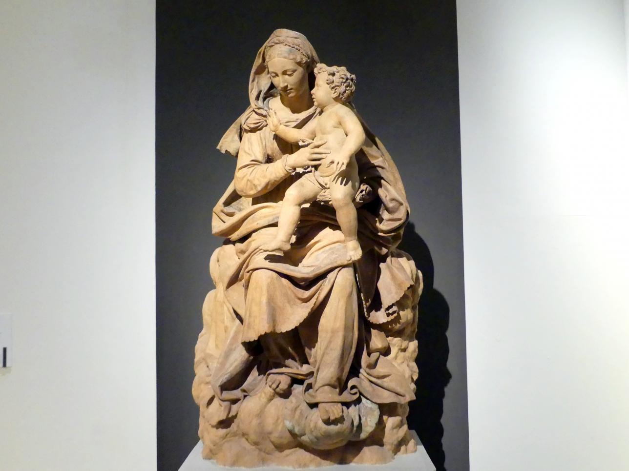 Antonio Begarelli: Maria mit Kind, um 1540