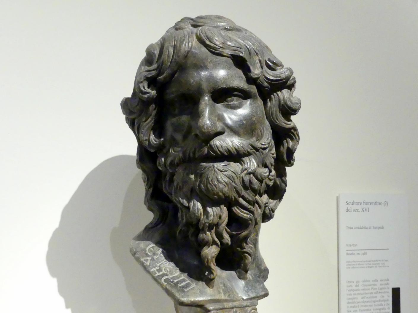 Sogenannter Euripides-Kopf, 2. Viertel 16. Jhd.