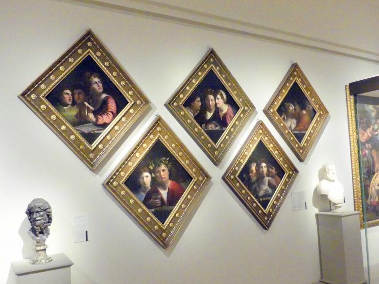 Giovanni Luteri (Dosso Dossi): Die Musik, die Unterhaltung, die Liebe, der Nervenkitzel, die Verführung, 1520 - 1522