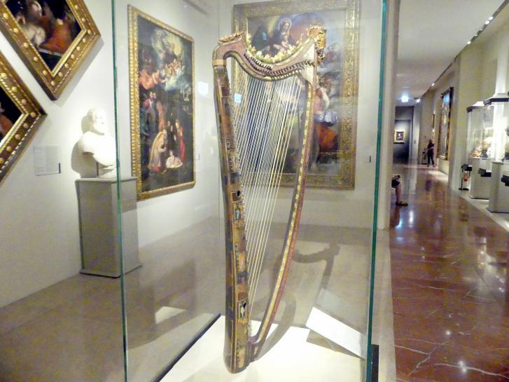 Giovan Battista Giacomelli (Umkreis): Doppelharfe, 1581 - 1593