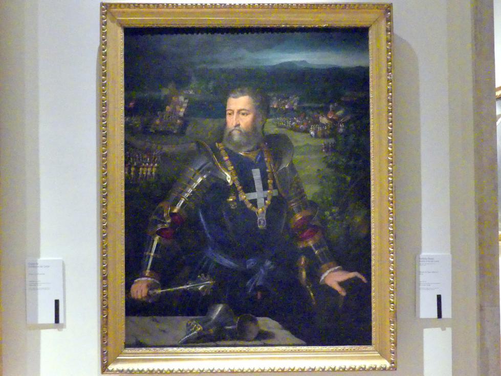 Battista Dossi (Battista de Luteri): Porträt des Herzogs Alfonso I. d'Este, um 1534 - 1536