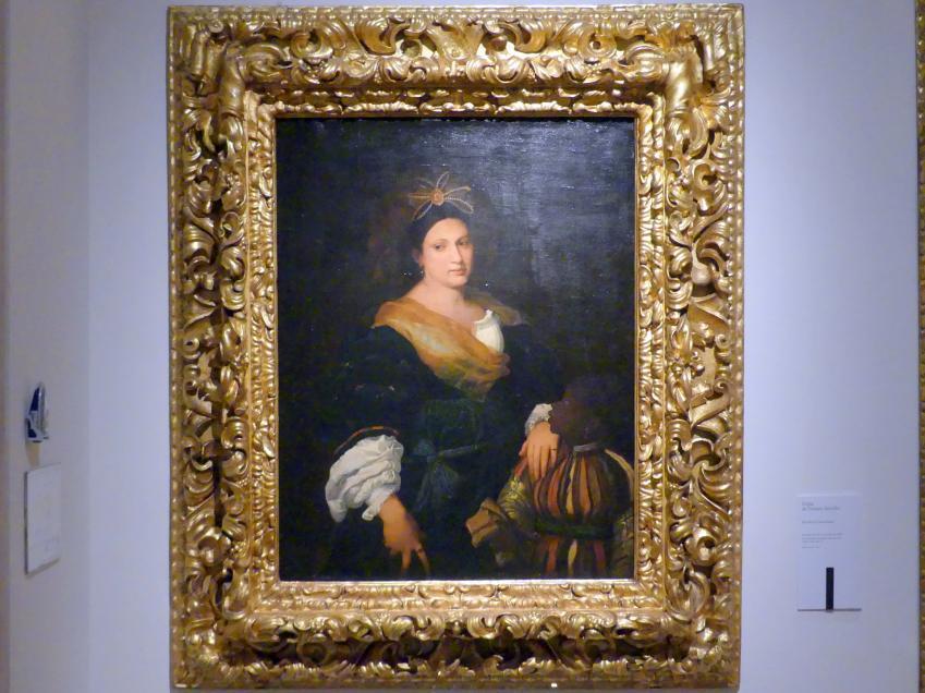 Tiziano Vecellio (Tizian) (Kopie): Bildnis der Laura Dianti, um 1590 - 1610