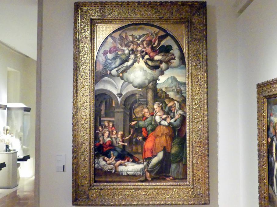 Pellegrino Aretusi (Pellegrino Munari): Geburt Christi, 1520 - 1523