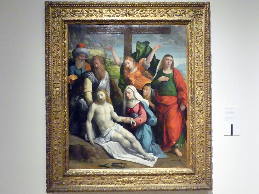 Benvenuto Tisi Garofalo (Werkstatt): Beweinung Christi, 1527