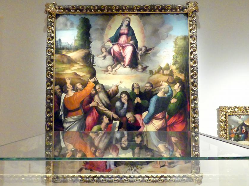 Giulio Raibolini (Giulio Francia): Mariä Aufnahme in den Himmel, 1513