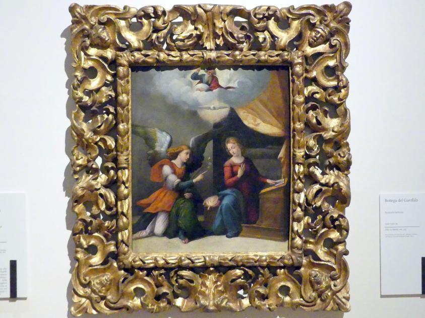 Benvenuto Tisi Garofalo (Werkstatt): Mariä Verkündigung, um 1520 - 1530