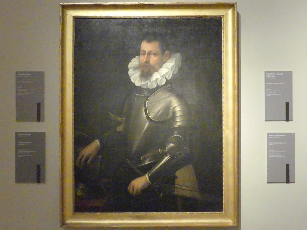 Cesare Aretusi: Bildnis eines Herren in Rüstung, Ende 16. Jhd.