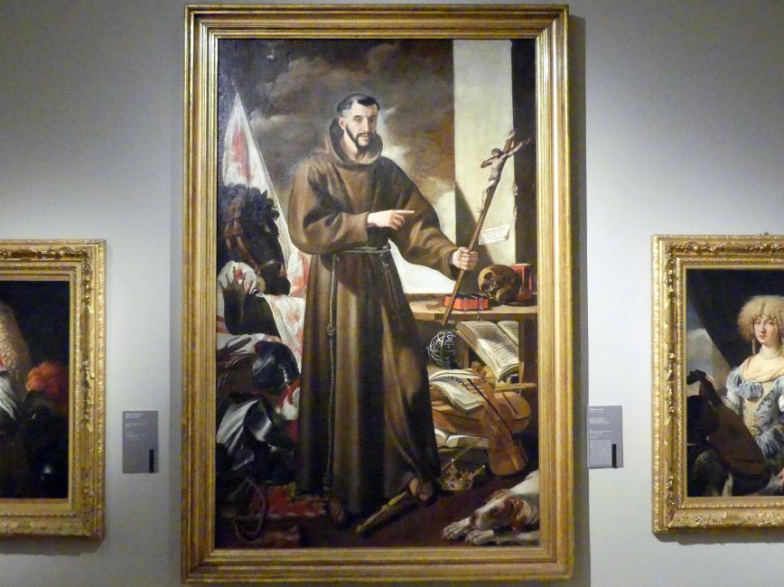 Matteo Loves: Bildnis des Herzogs Alfonso III. d'Este (1591-1644) als Kapuzinermönch fra' Giovan Battista da Modena, 1635