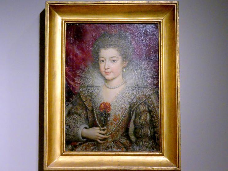 Frans Pourbus der Jüngere: Bildnis der Anna Maria Mauricia von Österreich (1601–1666), Königin von Frankreich (1615-1643), um 1615