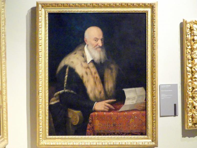 Lorenzo Sabatini: Bildnis des Quaranta Malvasia, um 1570 - 1576