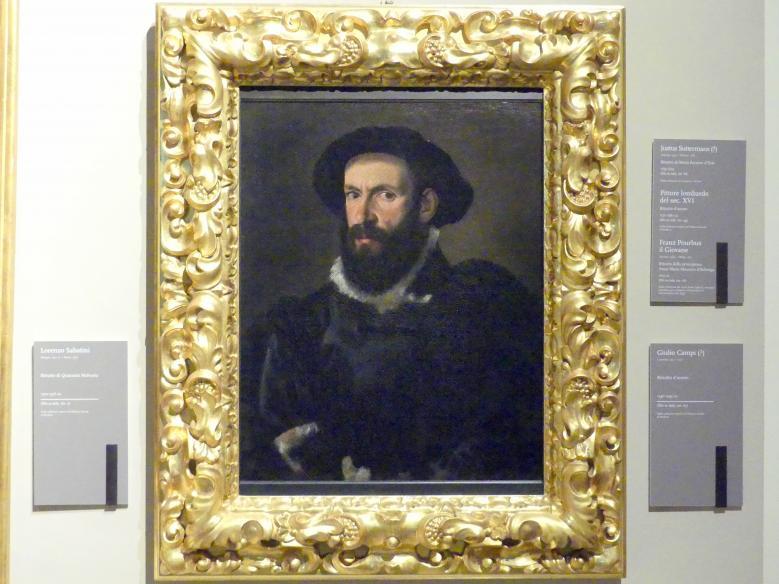 Giulio Campi: Bildnis eines Mannes, Um 1540 - 1545