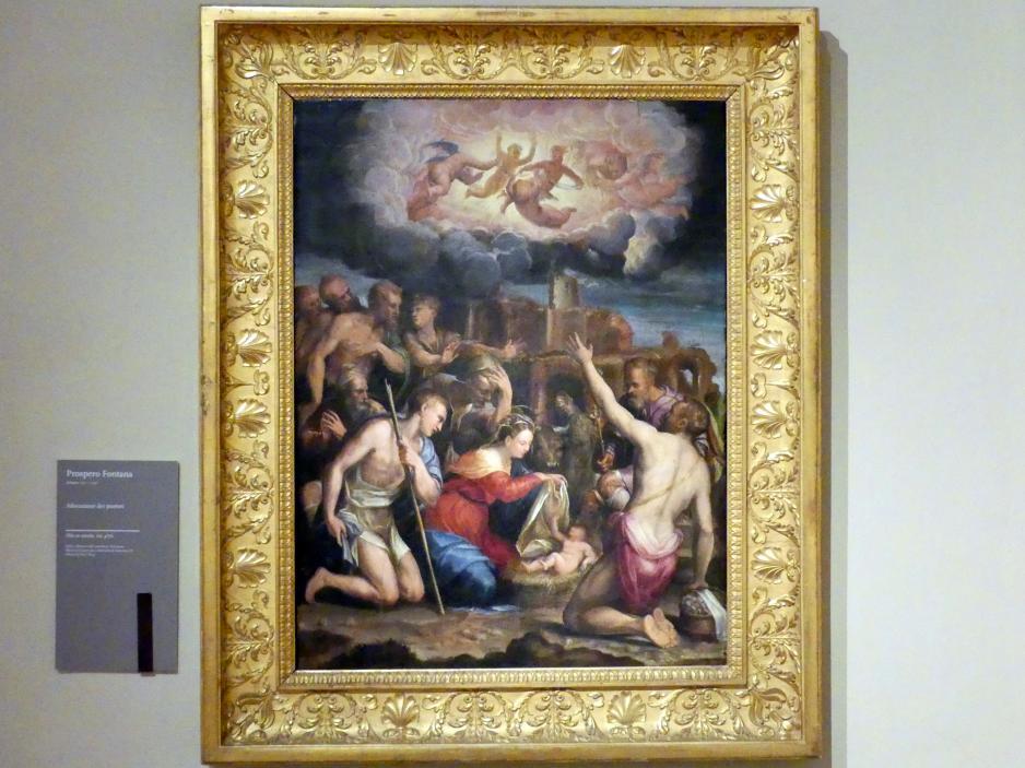 Prospero Fontana: Anbetung der Hirten, Undatiert