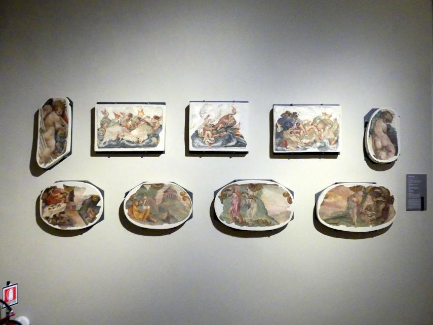 Lelio Orsi: Wandmalereien der Rocca di Novellara, um 1555 - 1556