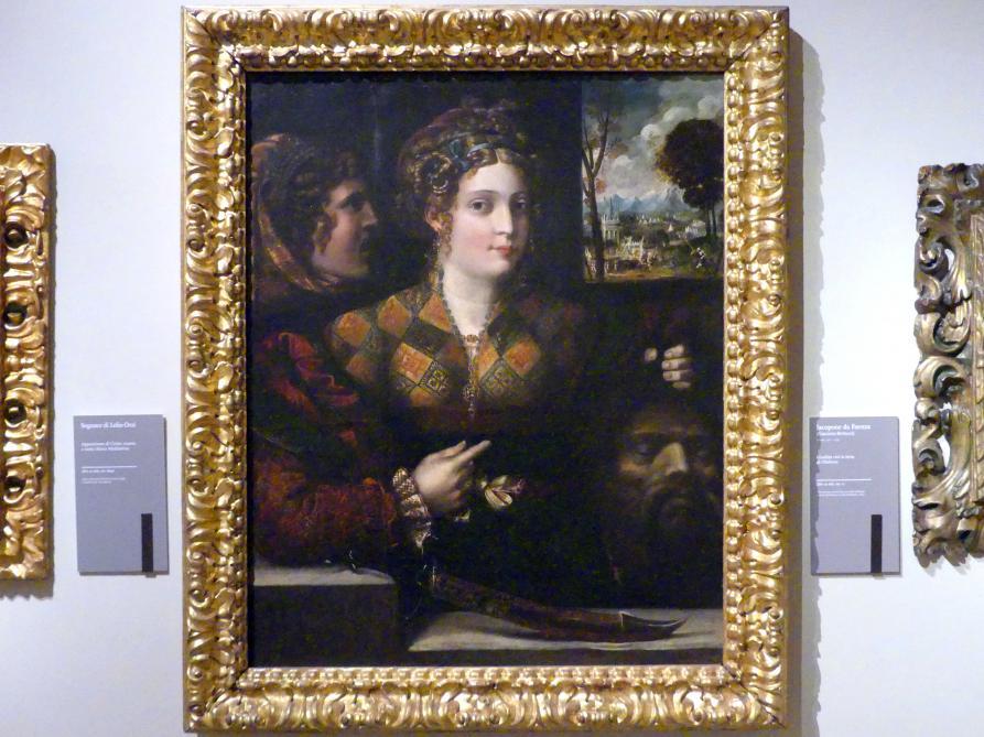 Jacopo Bertucci (Jacopone von Faenza): Judith mit dem Haupt des Holofernes, Undatiert