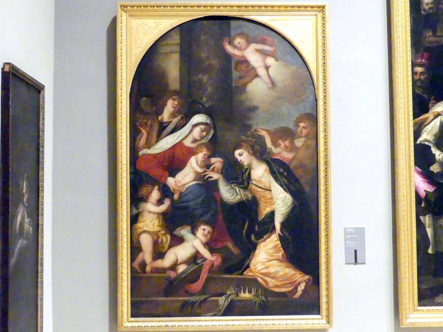 Alessandro Varotari (Il Padovanino): Mystische Vermählung der Hl. Katharina, 1640 - 1645