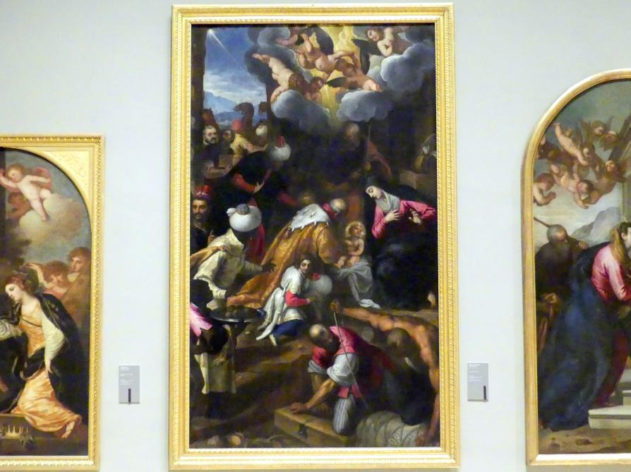 Jacopo Palma der Jüngere (Palma il Giovane / Giacomo Negretti): Anbetung der Könige, 1606 - 1608