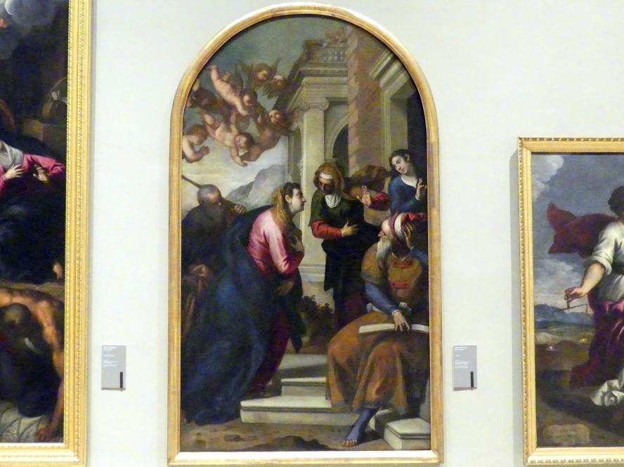 Jacopo Palma der Jüngere (Palma il Giovane / Giacomo Negretti): Mariä Heimsuchung, 1610 - 1611