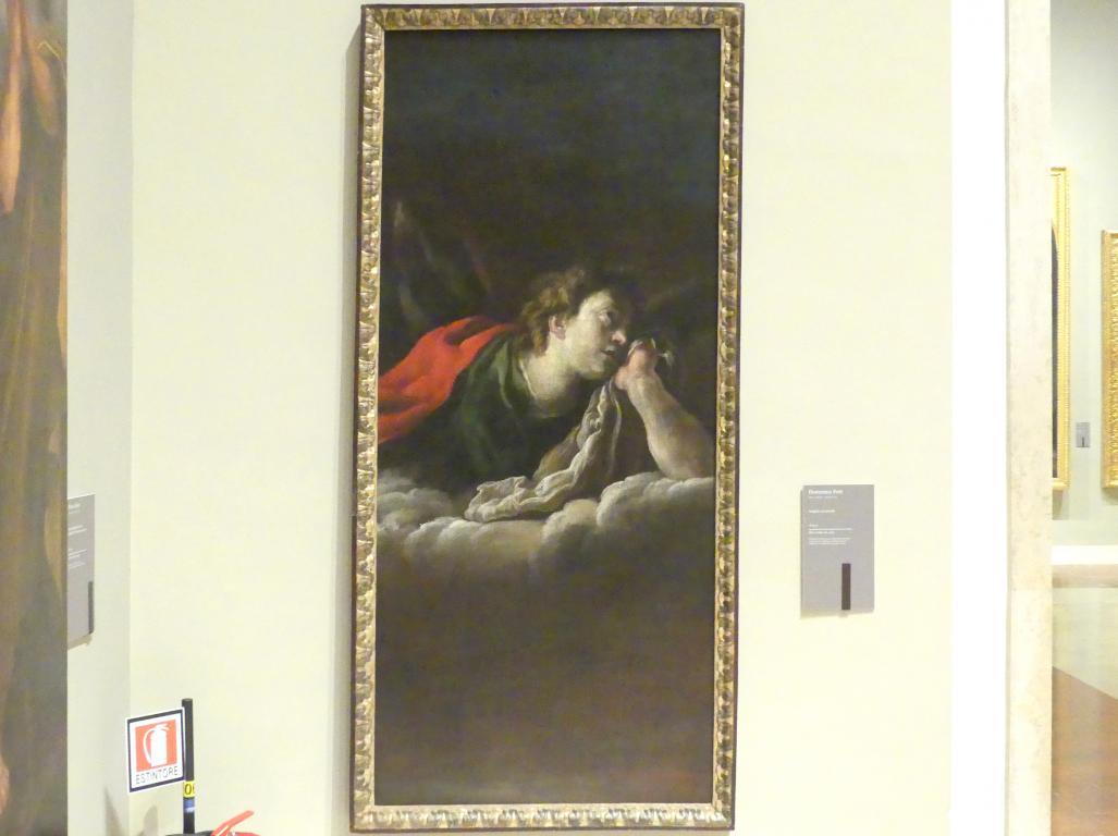 Domenico Fetti: Ein Engel auf Wolken, Um 1614