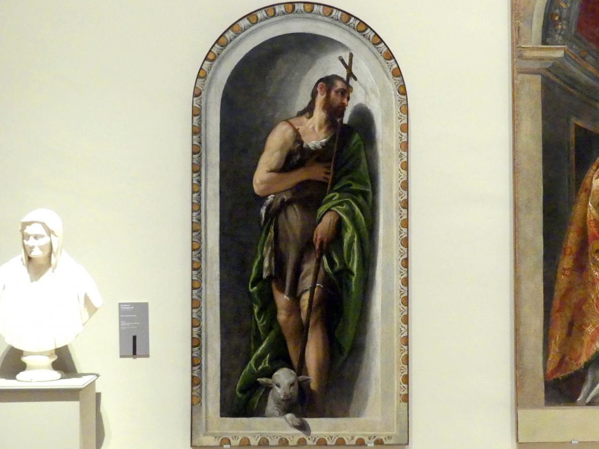 Paolo Caliari (Veronese): Johannes der Täufer, 1558 - 1561