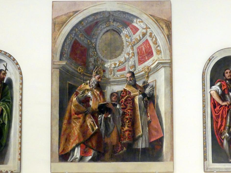 Paolo Caliari (Veronese): Zwei heilige Bischöfe (Geminiano und Severo), 1558 - 1561