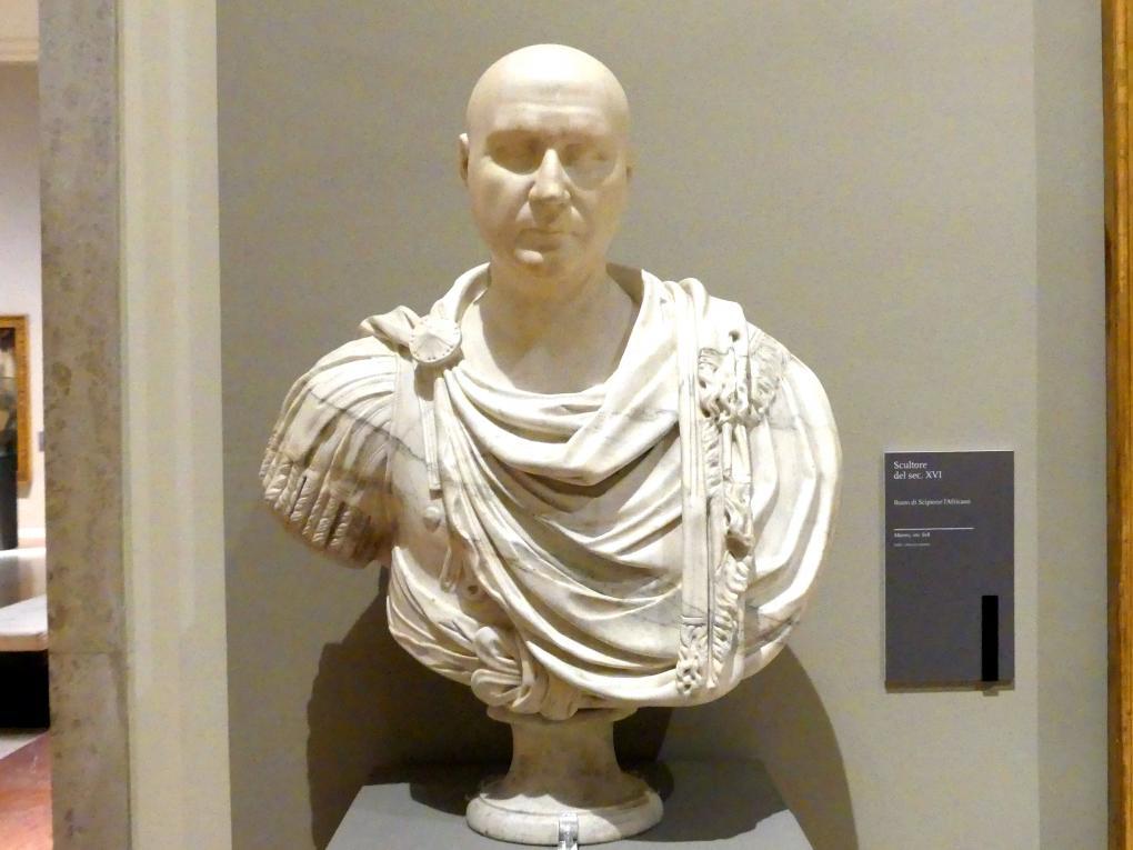 Büste des Publius Cornelius Scipio Africanus, 16. Jhd.