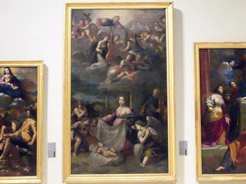 Scarsellino (Ippolito Scarsella): Anbetung des Christkindes, 1615 - 1620