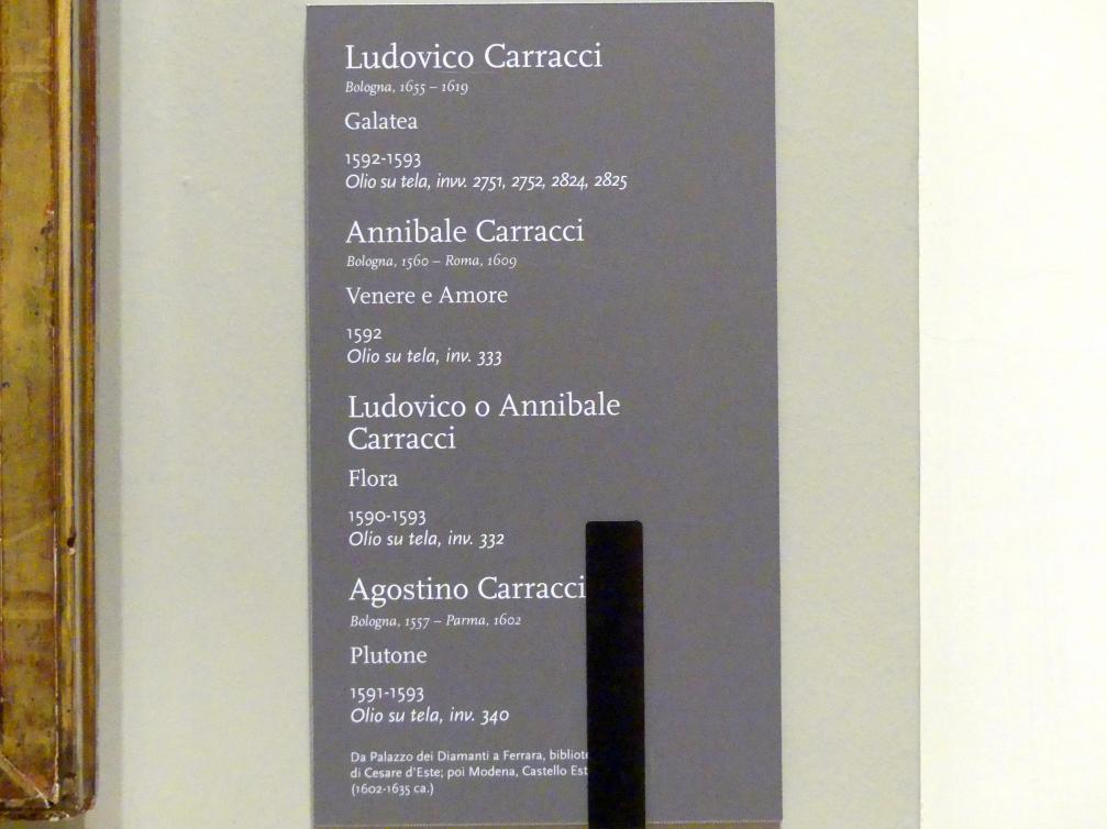 Annibale Carracci: Venus und Amor, 1592, Bild 2/2