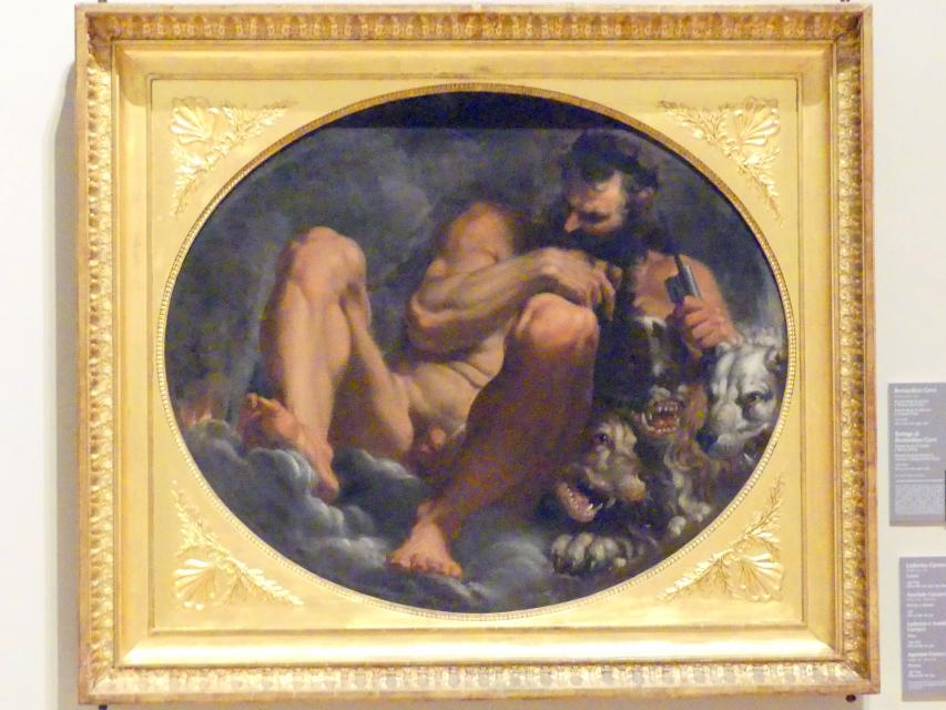 Agostino Carracci: Pluton, 1591 - 1593