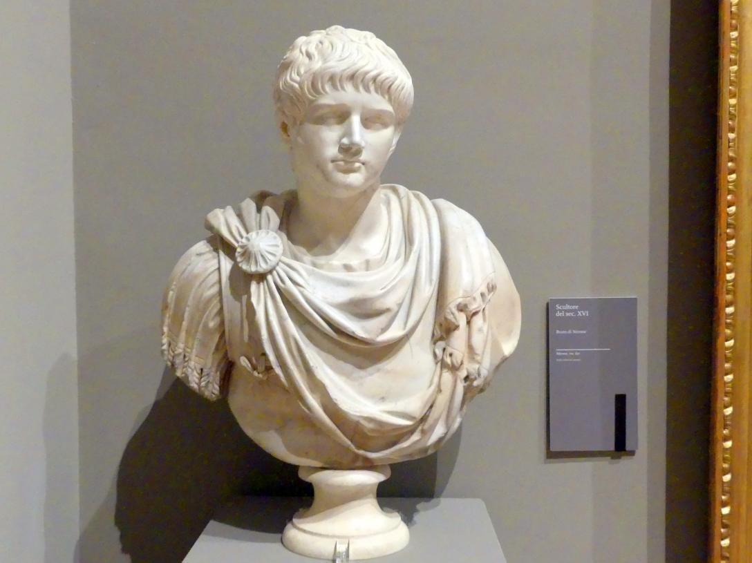 Büste des Nero, 16. Jhd.