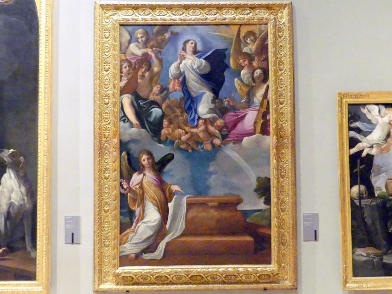 Ludovico Carracci: Mariä Aufnahme in den Himmel, Um 1607
