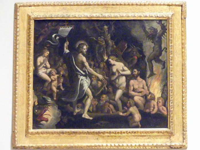 Ippolito Scarsella (Scarsellino): Christus in der Vorhölle, 1590 - 1595