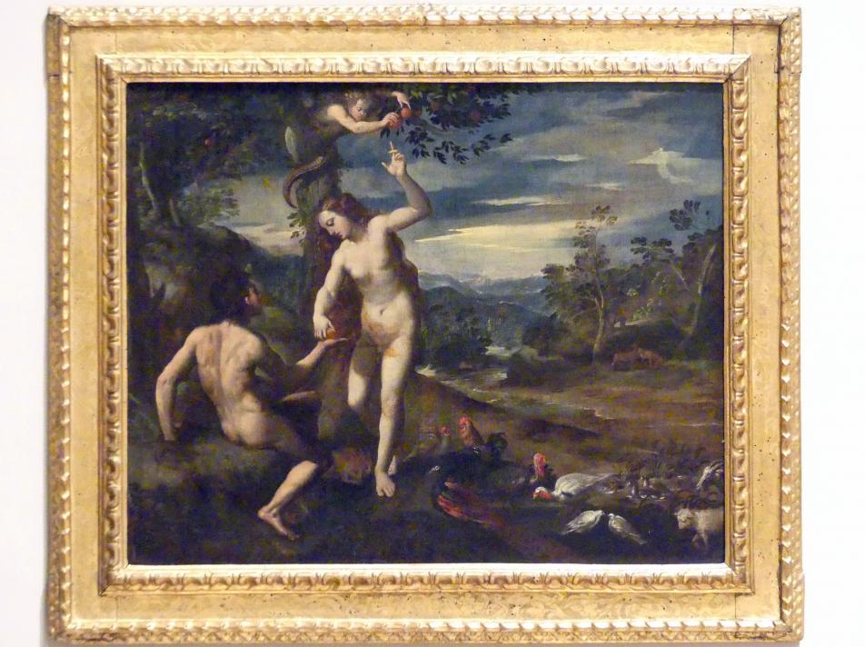 Ippolito Scarsella (Scarsellino): Erbsünde, 1590 - 1595