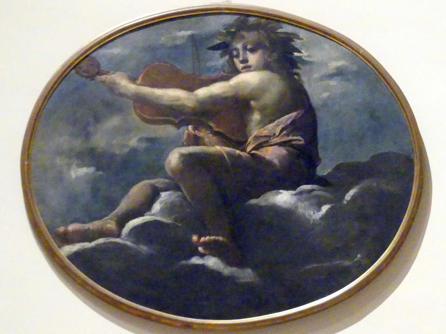 Ippolito Scarsella (Scarsellino): Musizierender Apoll, 1591 - 1593
