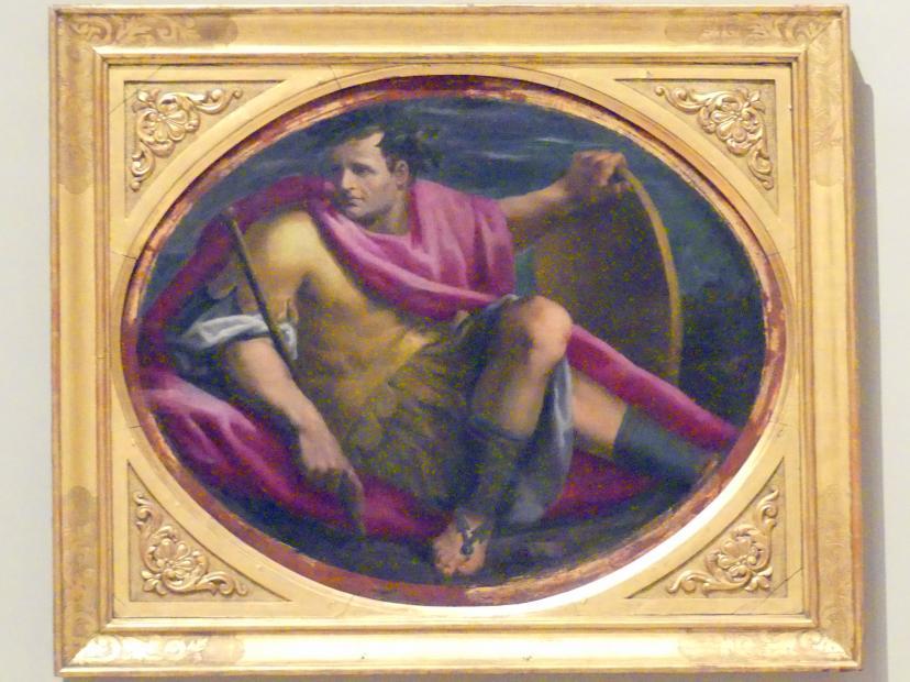 Giulio Belloni: Herrscher mit Schild, 1591 - 1593