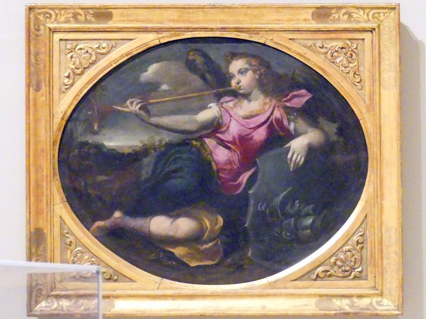 Ippolito Scarsella (Scarsellino): Der Ruhm, 1591 - 1593