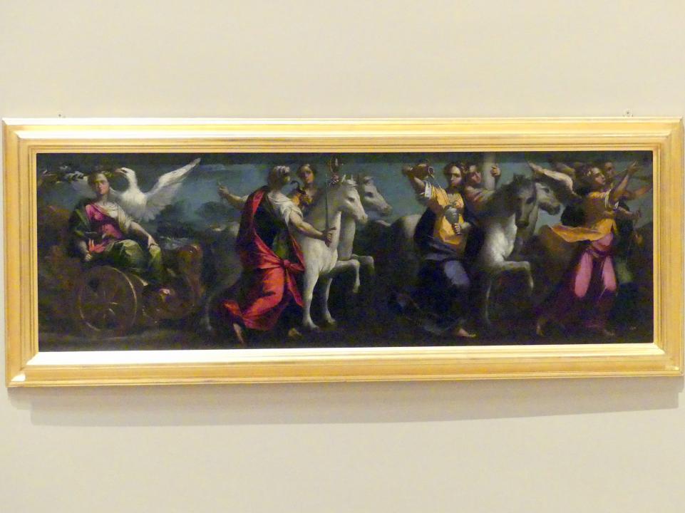 Gaspare Venturini: Serie von vier Allegorien auf das Haus d'Este, 1592 - 1593