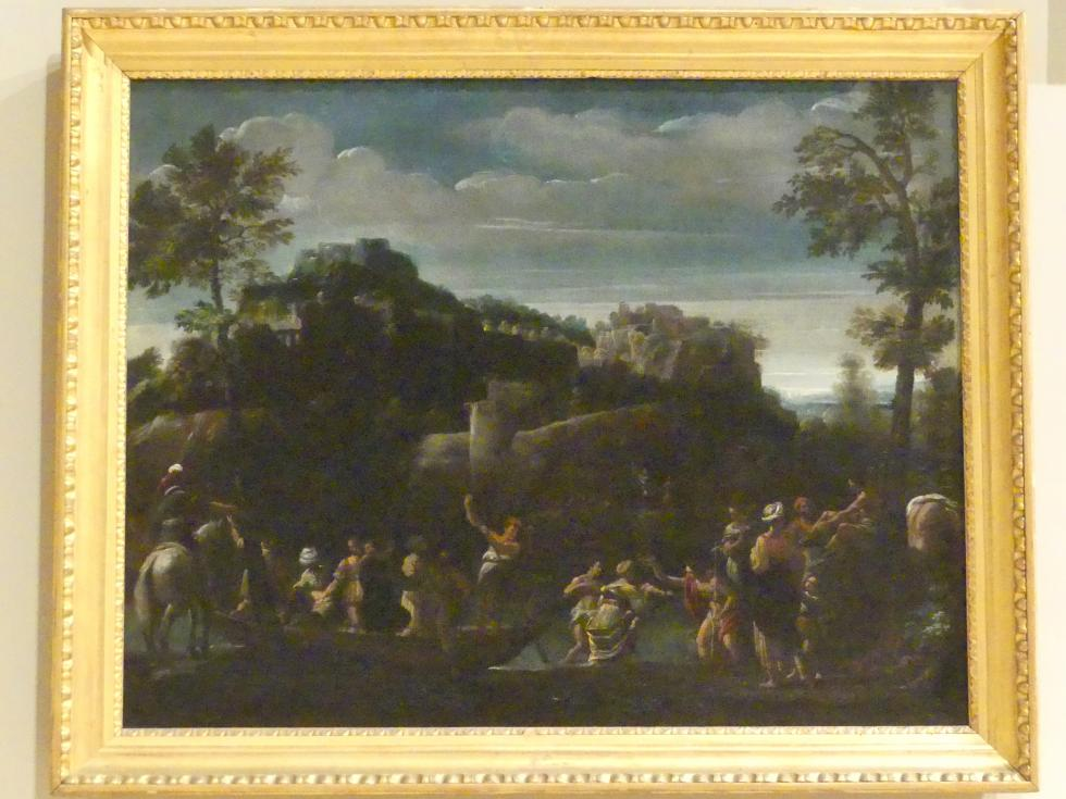 Sisto Badalocchio: Johannes der Täufer tauft die Menge am Jordan, Um 1617 - 1621