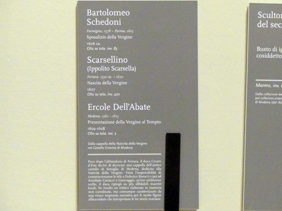 Bartolomeo Schedoni: Vermählung Mariens, um 1606, Bild 2/2