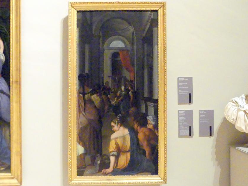 Ercole dell'Abate: Mariä Tempelgang, 1602 - 1608