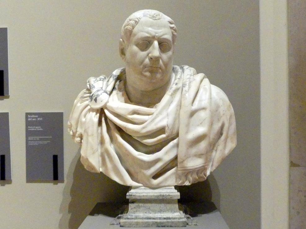 Büste eines Unbekannten, sogenannter Vitellio, 16. Jhd.
