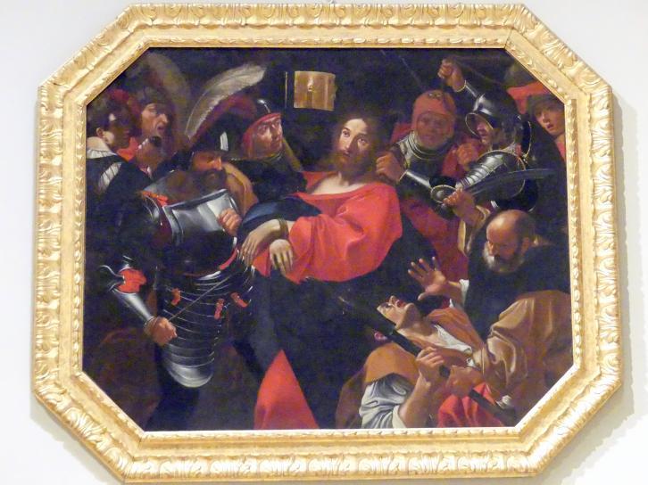 Giacomo Cavedone: Gefangennahme Christi, um 1620 - 1630