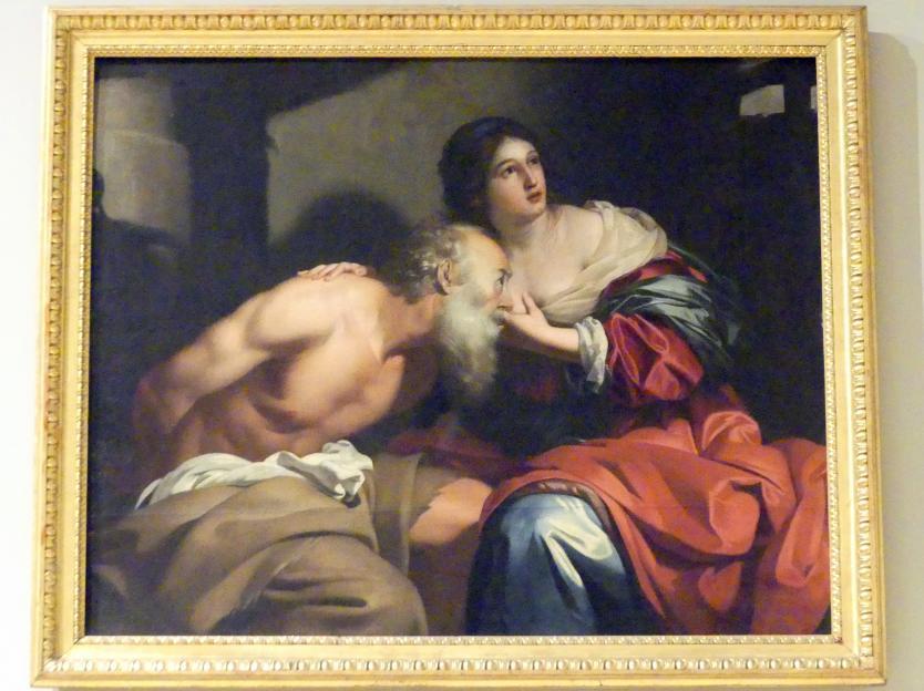 Nicolas Régnier (Niccolò Renieri): Caritas Romana, 1638