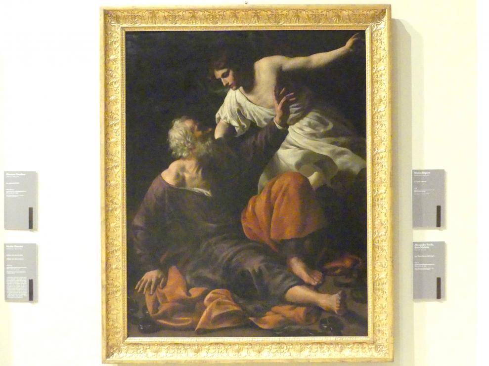 Alessandro Turchi (L'Orbetto): Die Befreiung Petri, um 1630