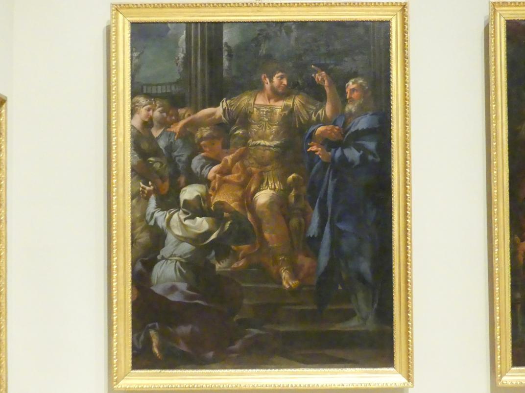 Lazzaro Baldi: Scipione zeigt seine Gnade gegenüber den Frauen von Ilergeti, 1660 - 1661