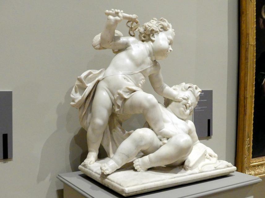 Antonio Raggi: Der heilige und der weltliche Amor, vor 1685, Bild 2/5