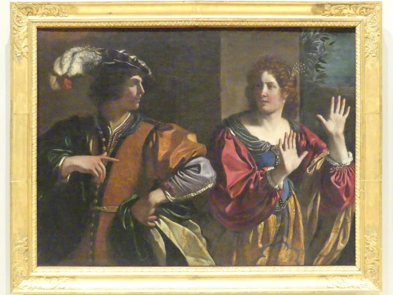 Giovanni Francesco Barbieri (Il Guercino): Amnon vertreibt seine Schwester Thamar, 1627 - 1628