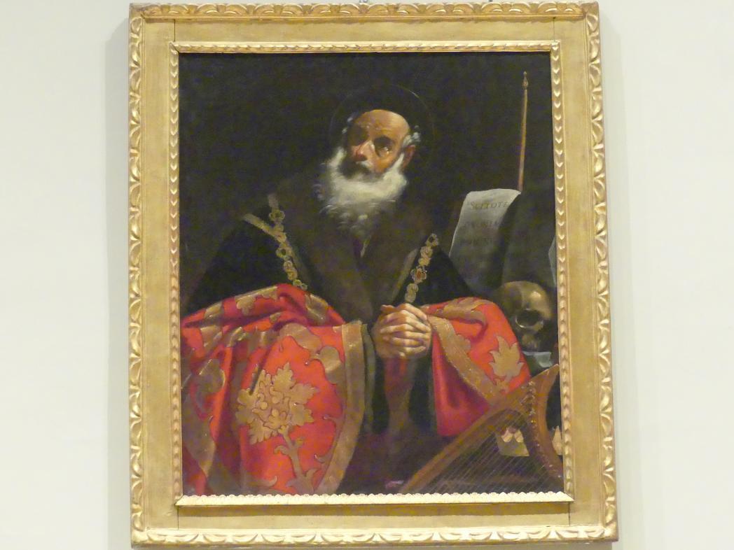 Giacomo Cavedone: König David, Um 1620 - 1630